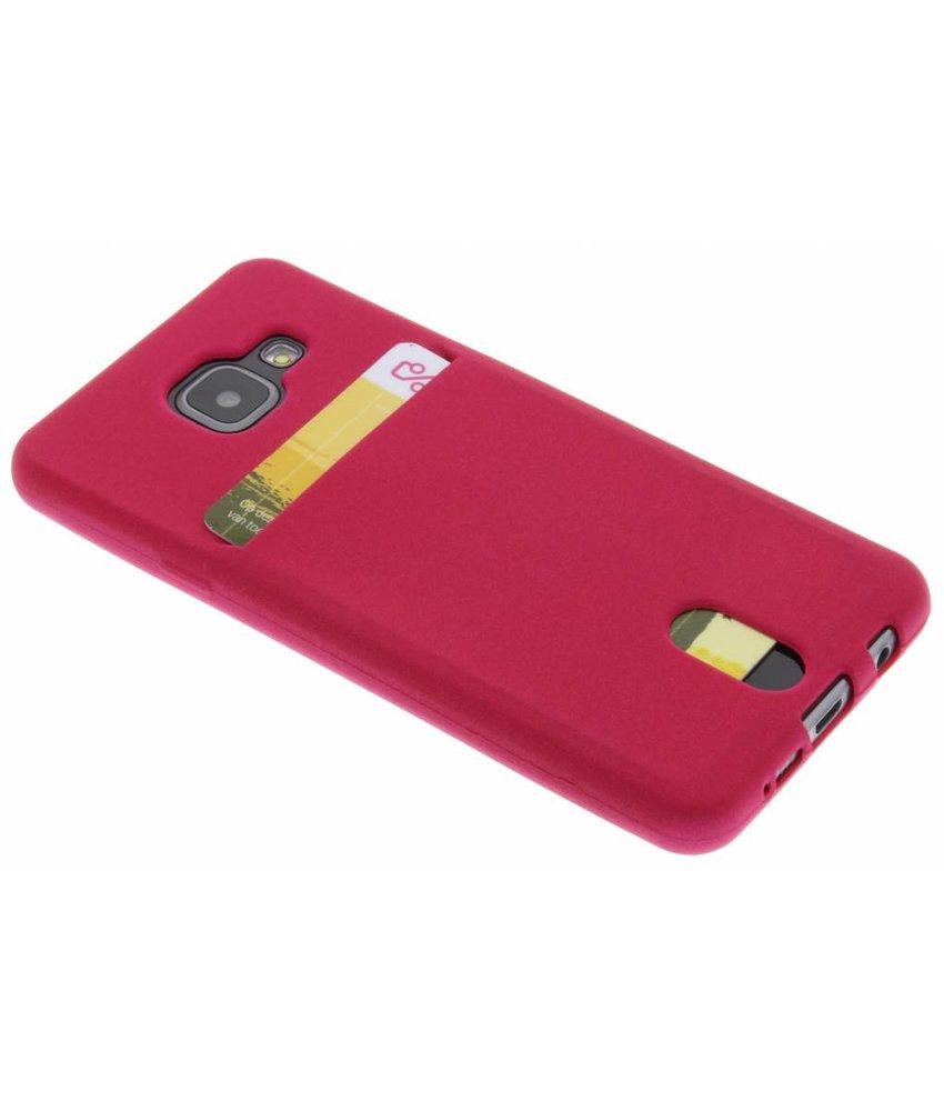TPU siliconen card case Samsung Galaxy A3 (2016)