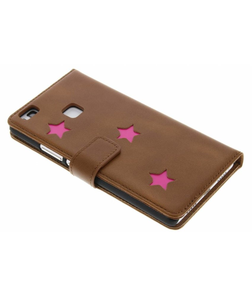Fabienne Chapot Pink Reversed Star Booktype Huawei P9 Lite