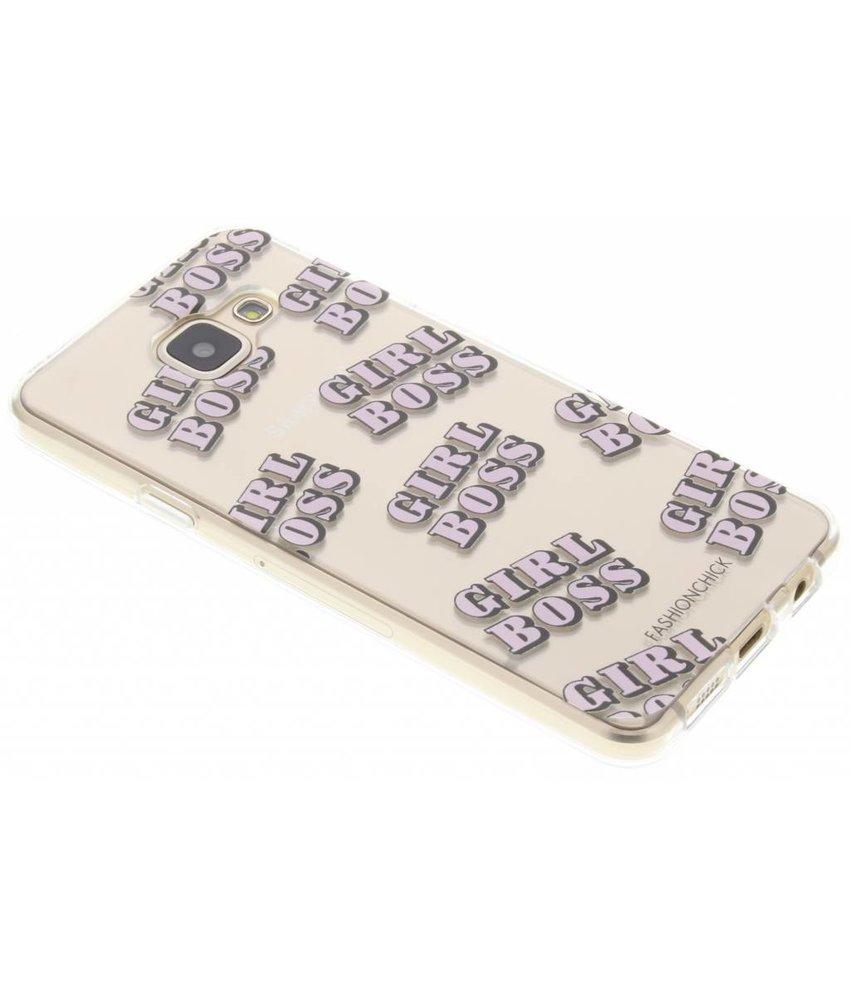 Fashionchick Girl Boss Softcase Samsung Galaxy A3 (2016)