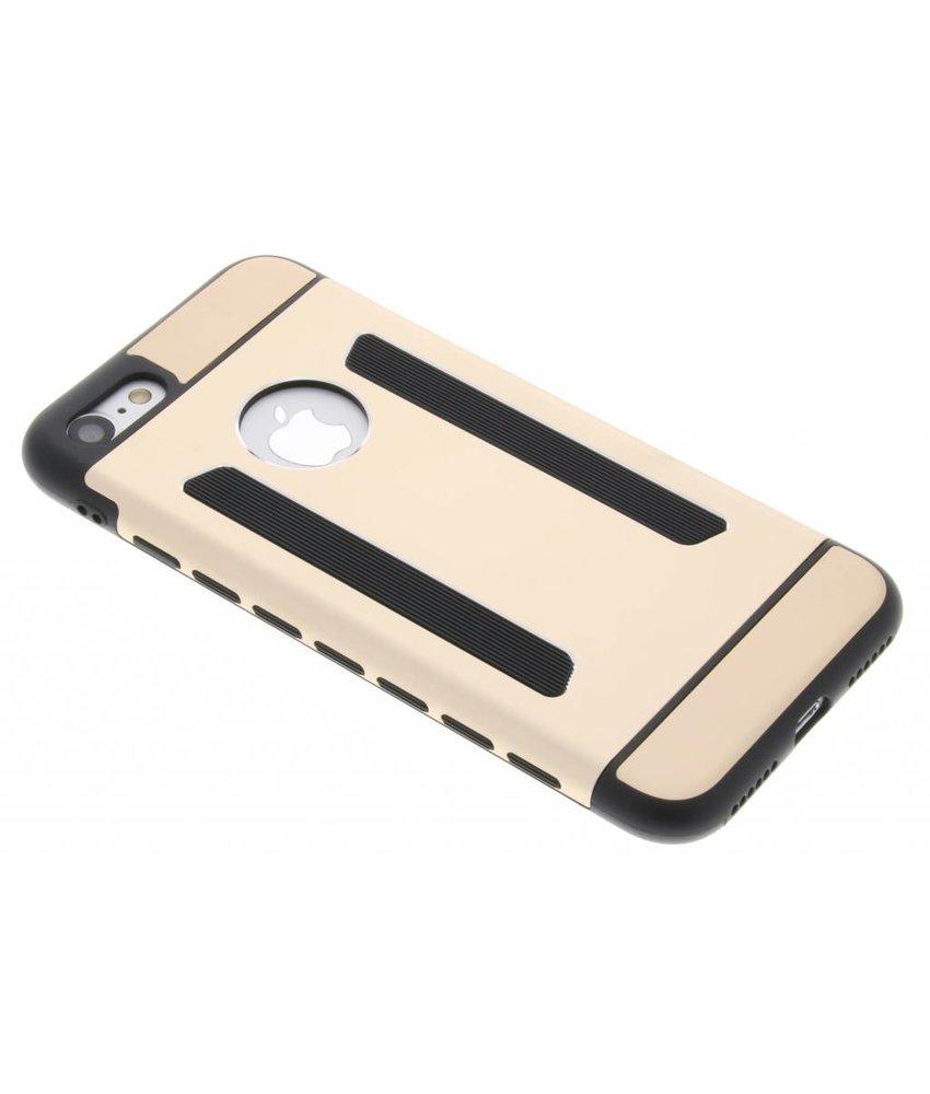 Goud metallic hardcase hoesje iPhone 7