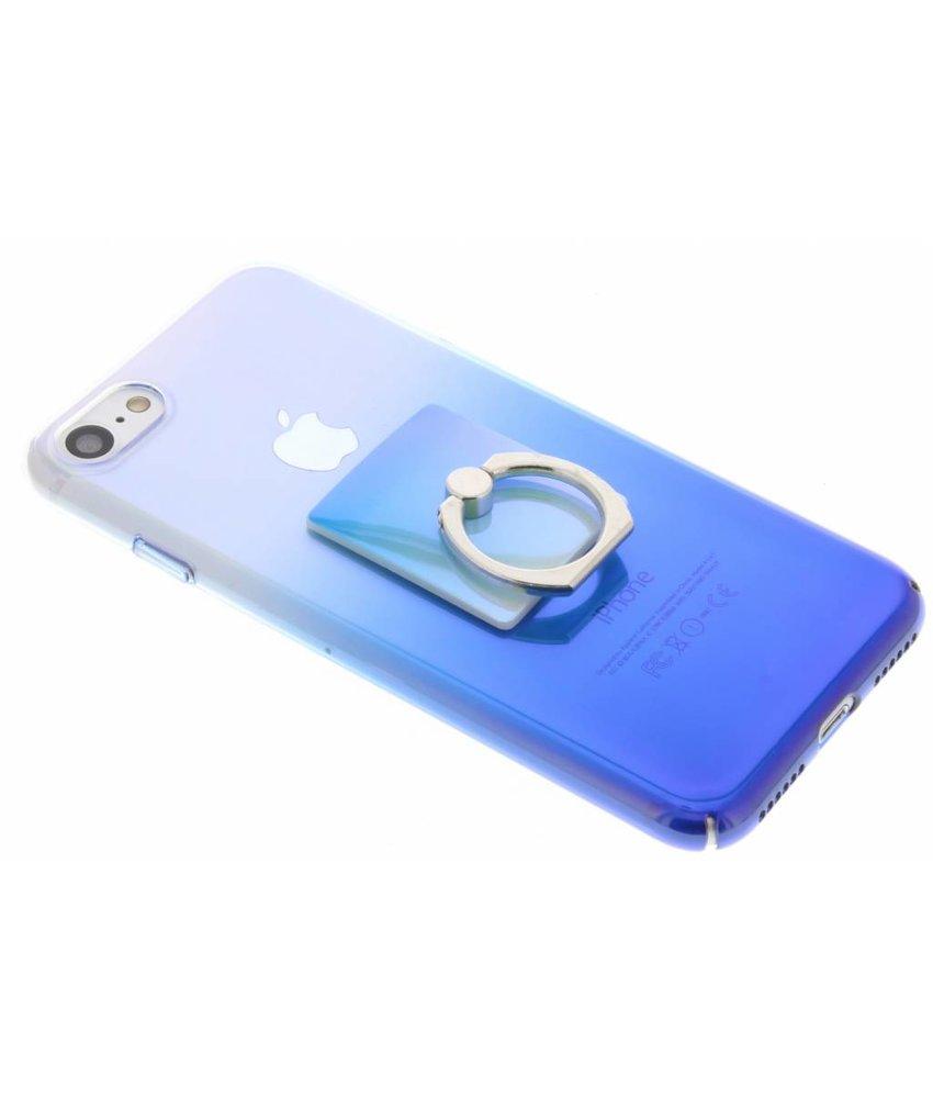 Tweekleurig hardcase hoesje met ring iPhone 8 / 7
