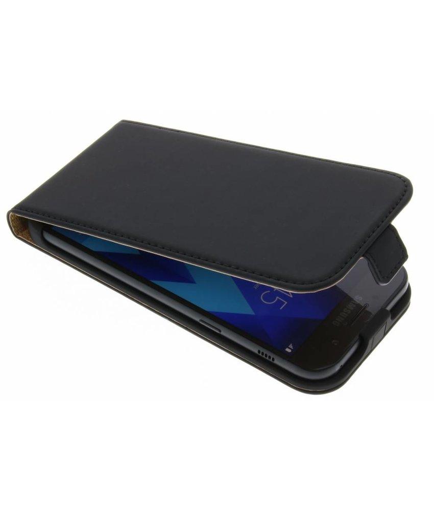 Selencia Zwart Luxe Flipcase Samsung Galaxy A5 (2017)