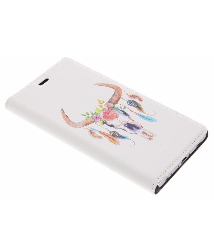 Bull Skull Design Booklet Huawei P8