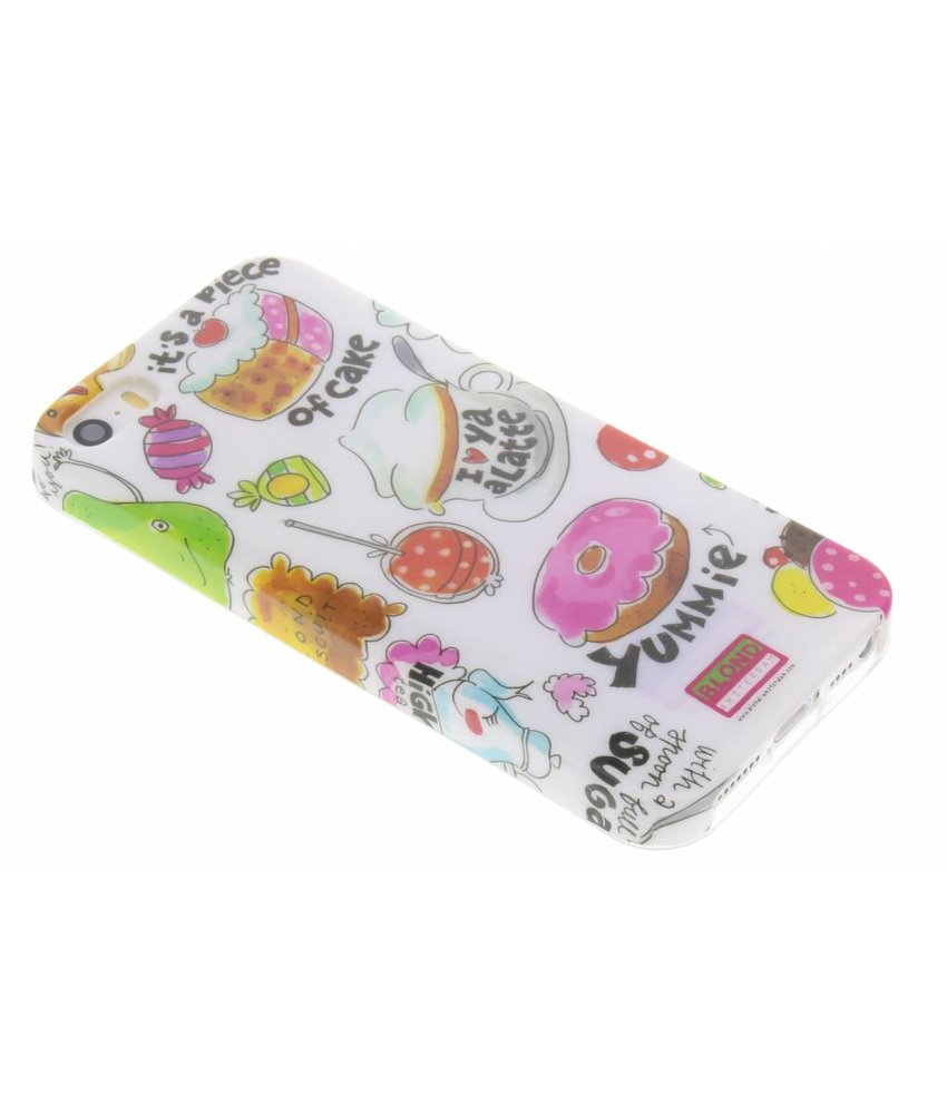 Blond Amsterdam Piece of cake softcase iPhone 5 / 5s / SE