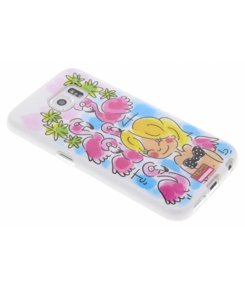 Blond Amsterdam Flamingo softcase Samsung Galaxy S6