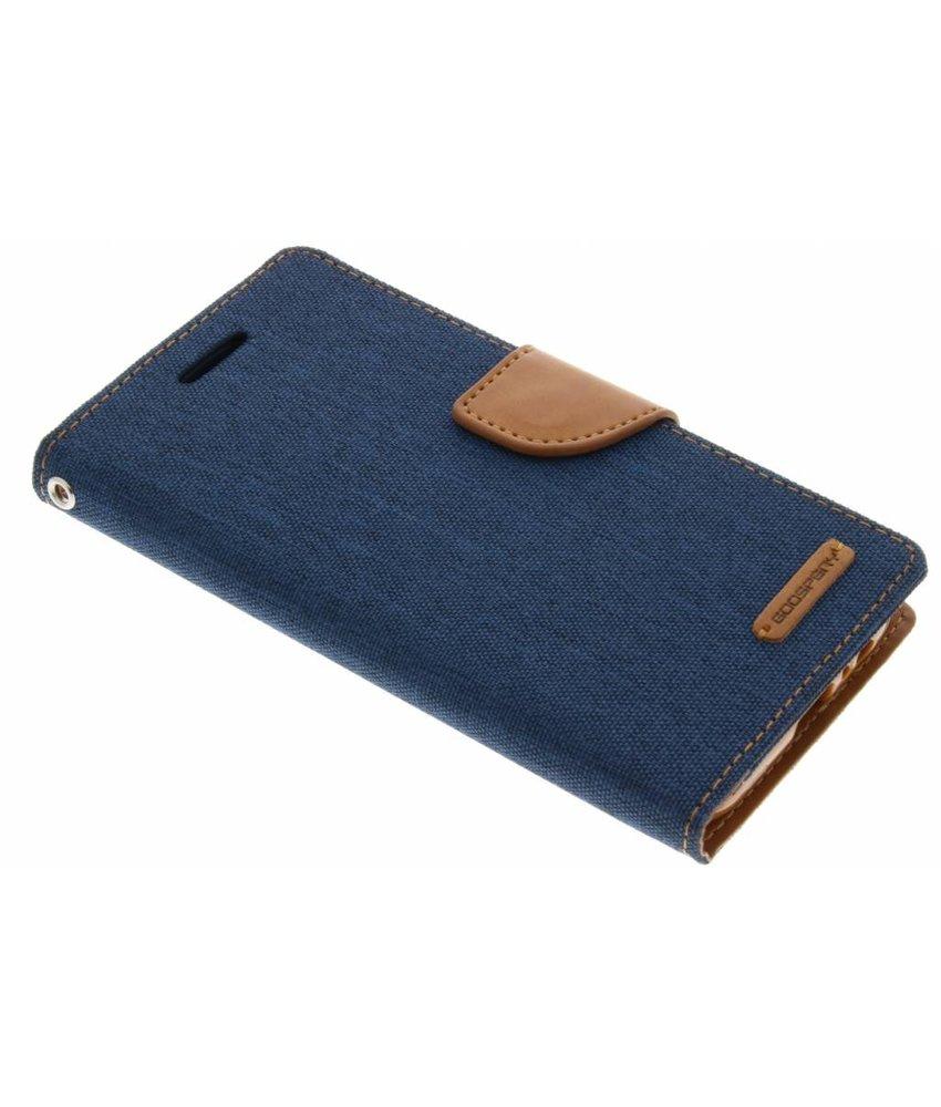 Mercury Goospery Donkerblauw Canvas Diary Case Samsung Galaxy A5 (2017)