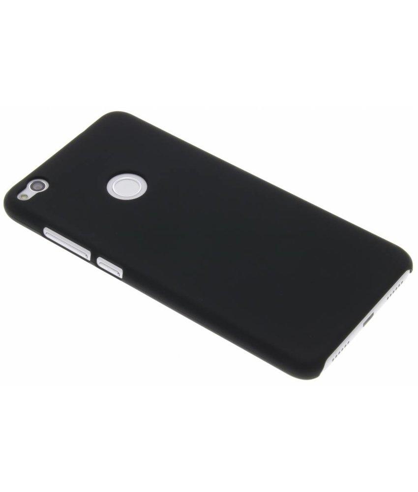 Zwart effen hardcase hoesje Huawei P8 Lite (2017)
