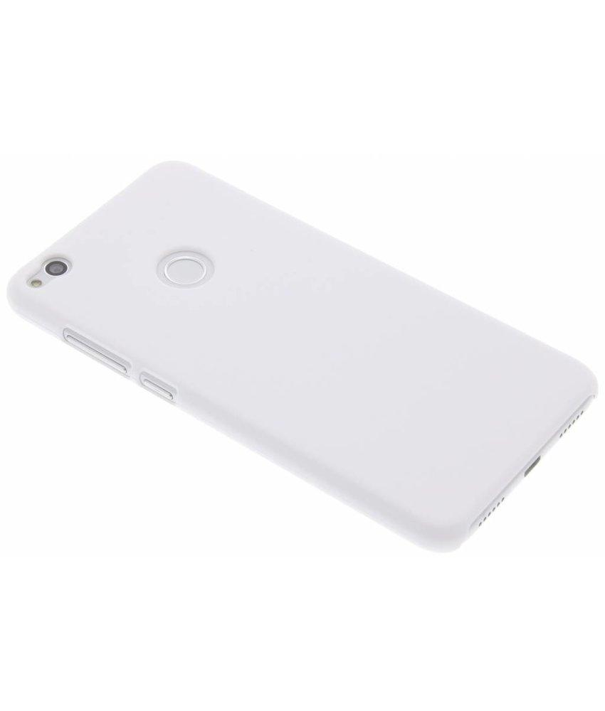 Wit effen hardcase hoesje Huawei P8 Lite (2017)