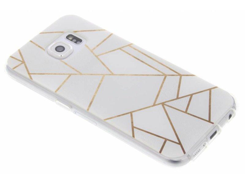 Cas Tpu Design Graphique Blanc Pour Samsung Galaxy J7 (2016) uNSNF6