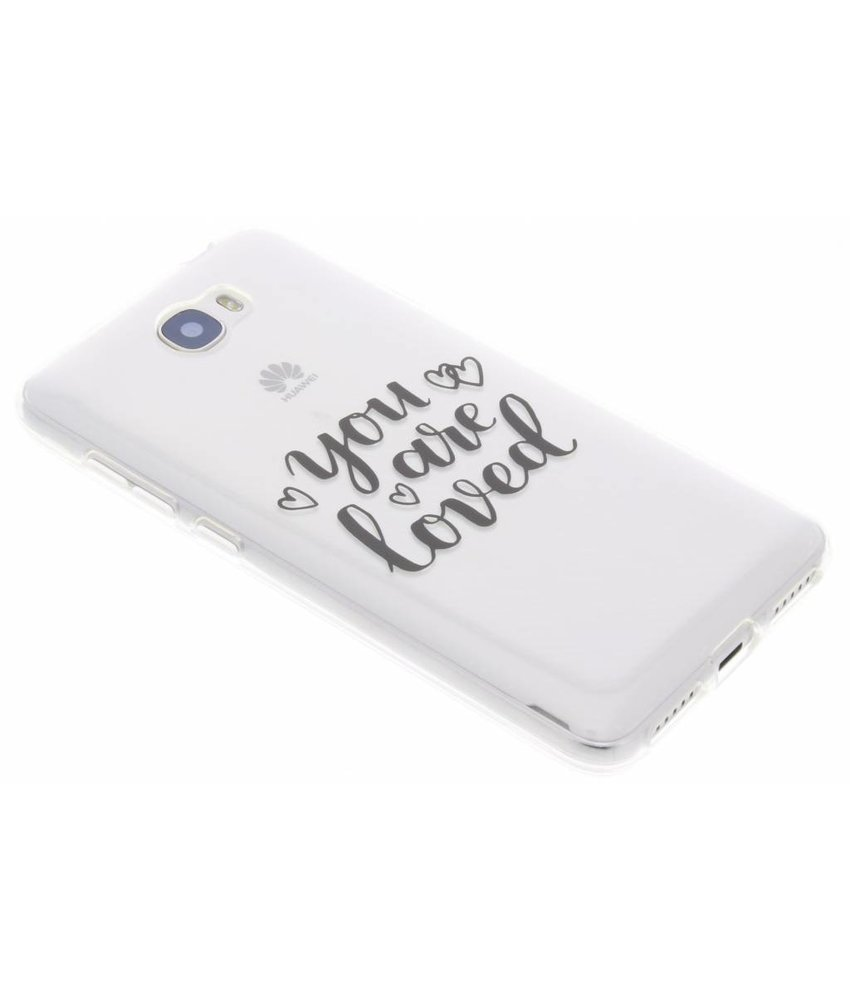 You Are Loved TPU hoesje Huawei Y5 2 / Y6 2 Compact