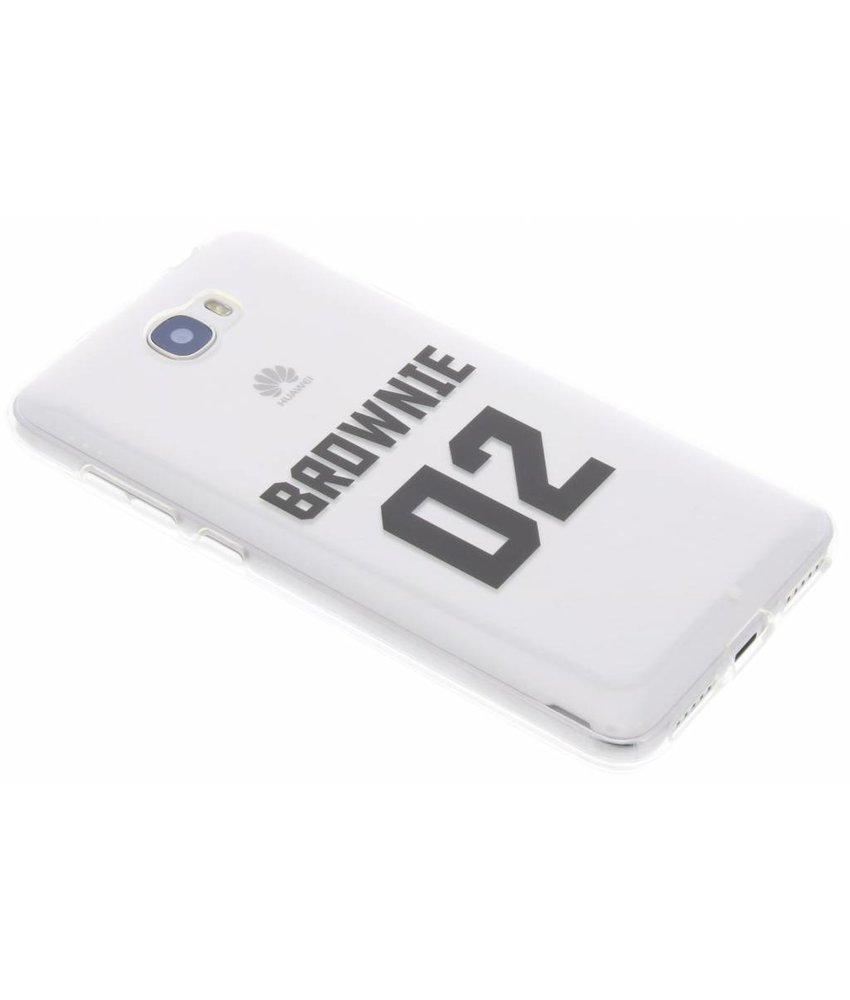 Brownie TPU hoesje Huawei Y5 2 / Y6 2 Compact