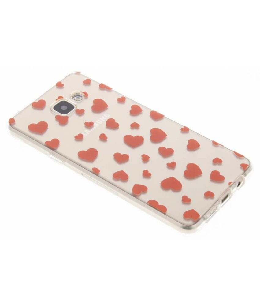 Red Hearts TPU hoesje Samsung Galaxy A5 (2016)