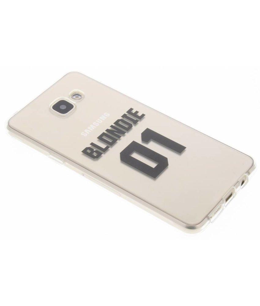 Blondie TPU hoesje Samsung Galaxy A5 (2016)