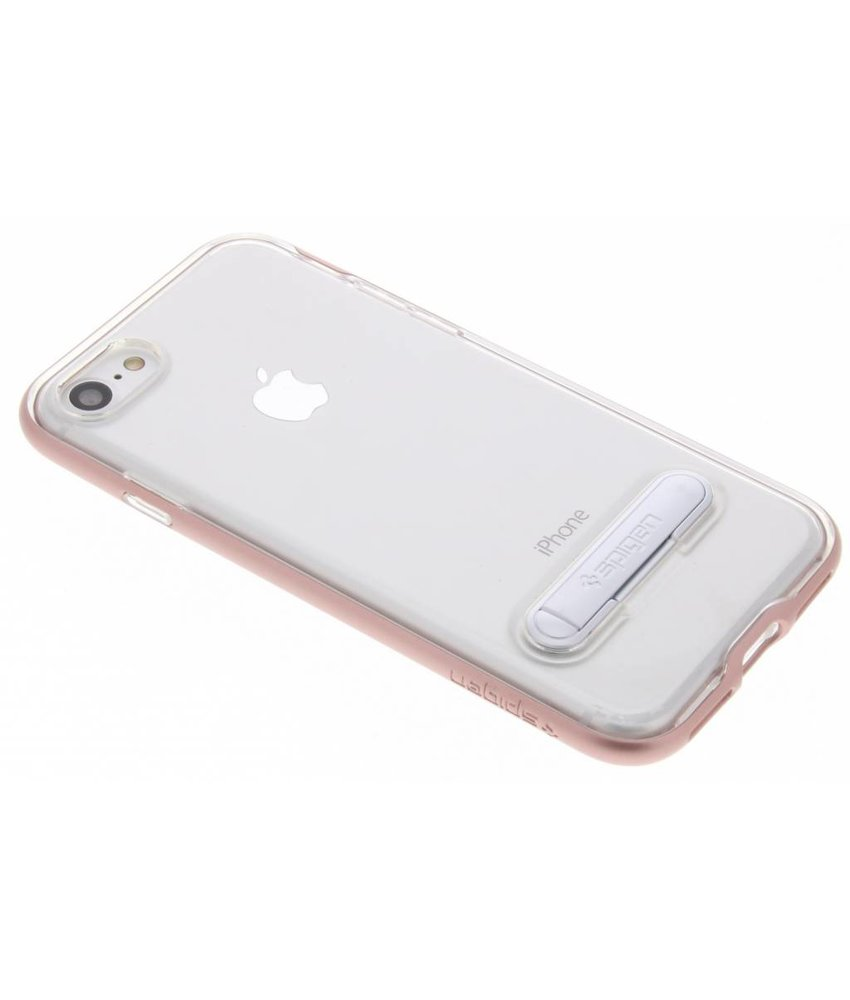 Spigen Rosé Goud Crystal Hybrid Case iPhone 8 / 7