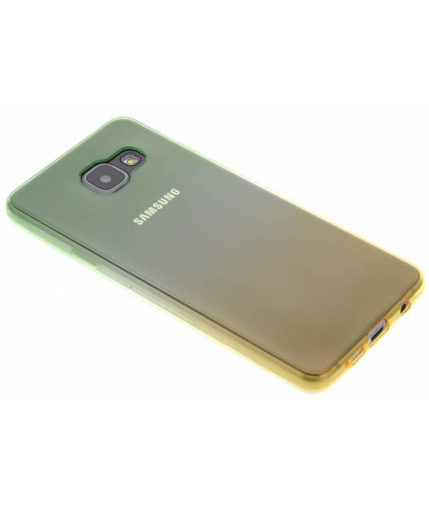 Tweekleurig TPU siliconen hoesje Galaxy A3 (2016)