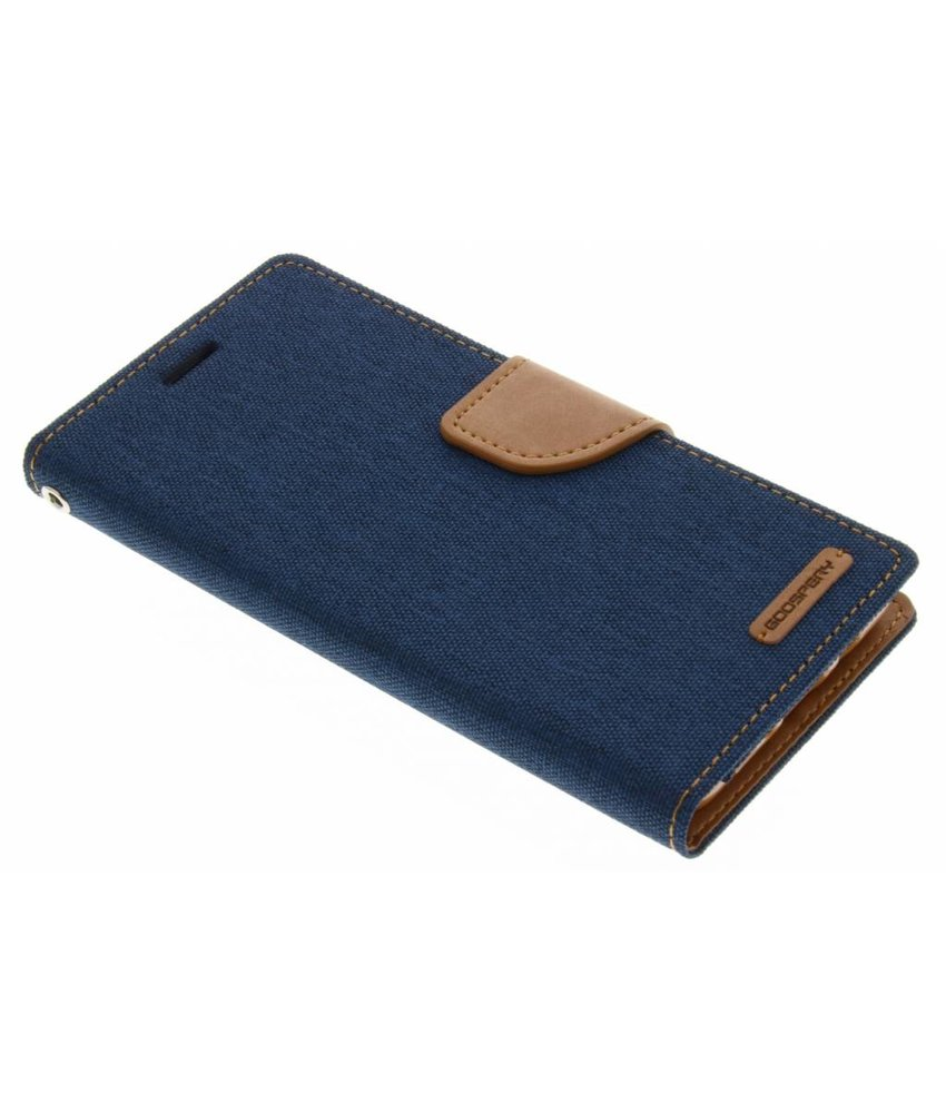 Mercury Goospery Blauw Canvas Diary Case Samsung Galaxy J5 (2016)