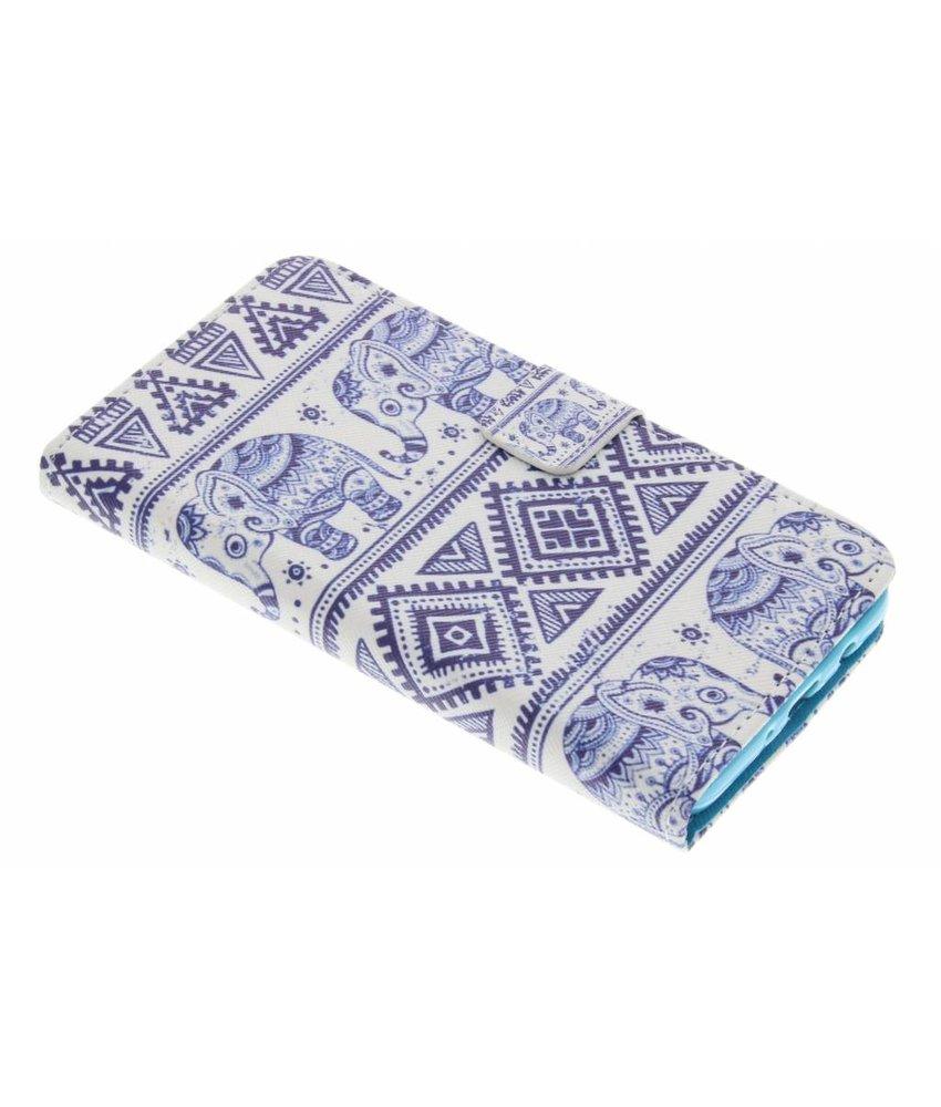 Feuilles Vertes Conception Booktype Tpu Case Pour Samsung Galaxy S6 YcKPGD7u