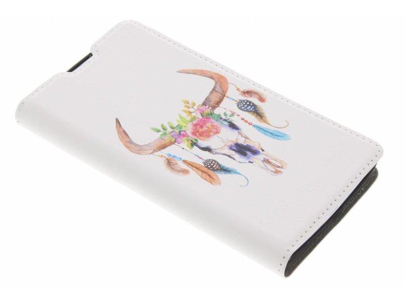 Bull Skull Design Booklet voor de LG Magna / G4c