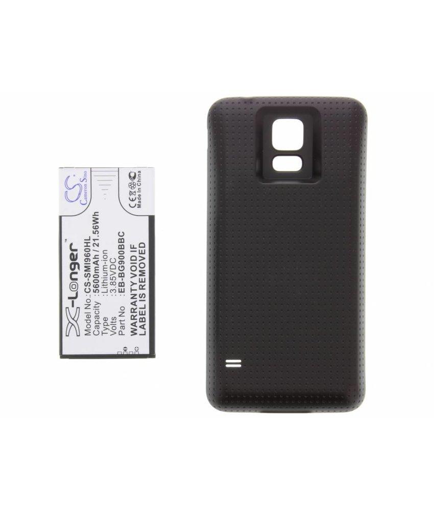 5600 mAh batterij met backcover S5 (Plus) / Neo
