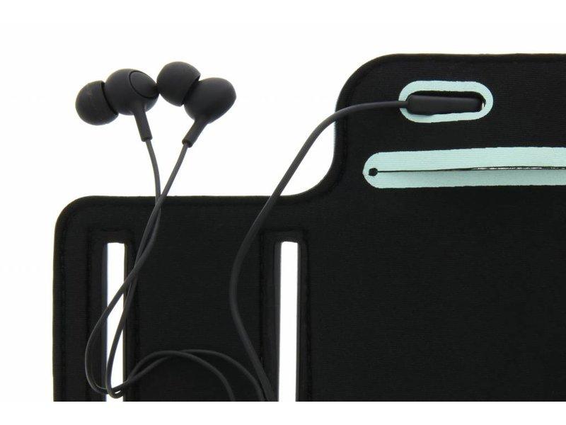 Zwarte sportarmband voor de Huawei Nova