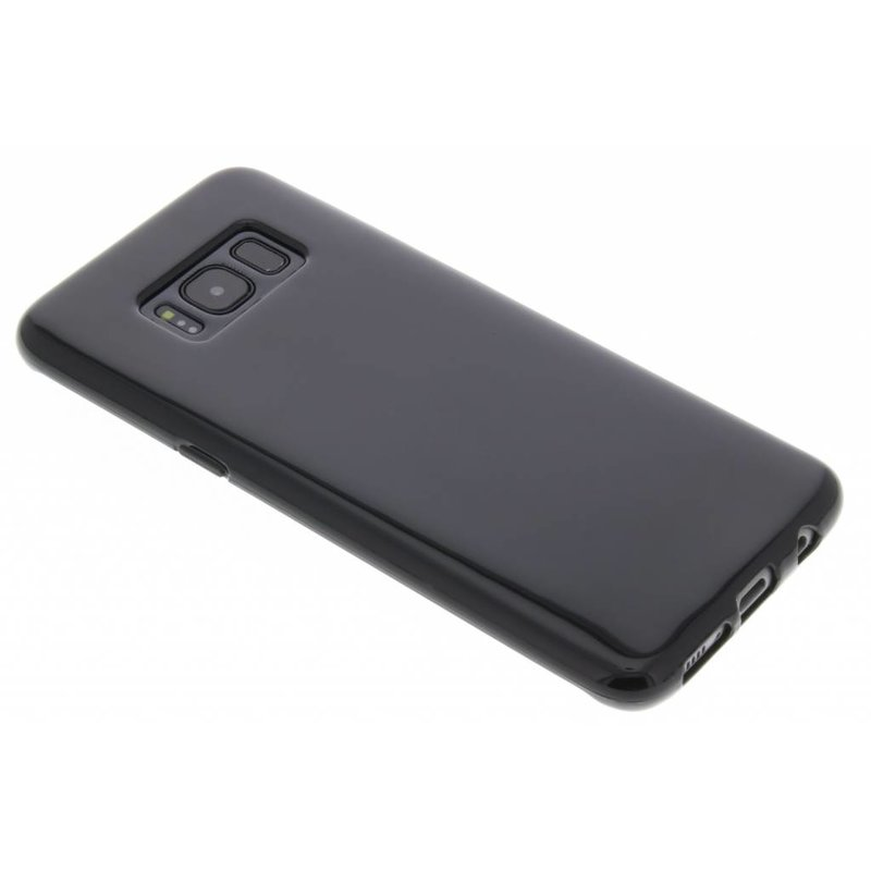 Zwart gel case Samsung Galaxy S8