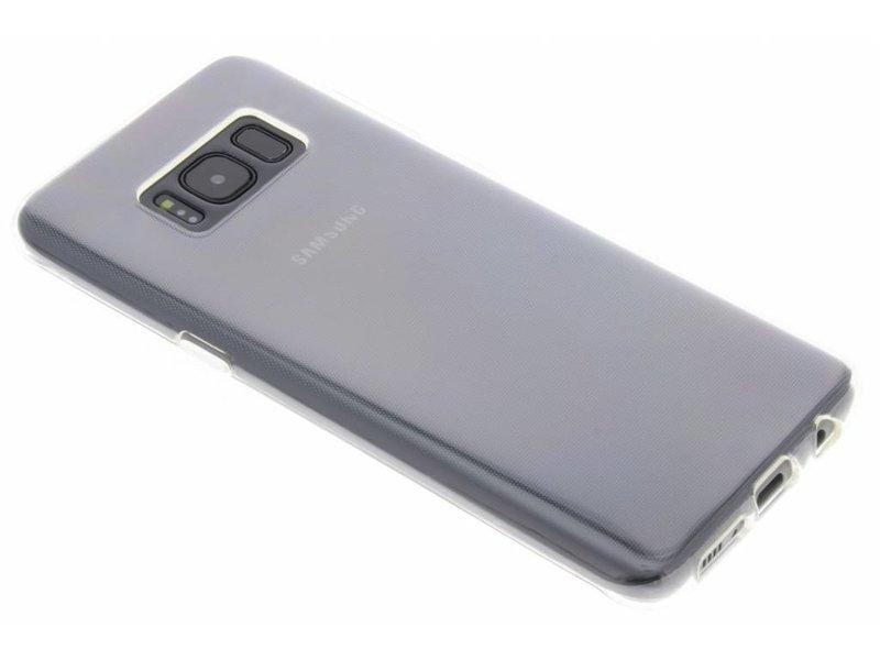 Samsung Galaxy S8 hoesje - Transparant gel case voor