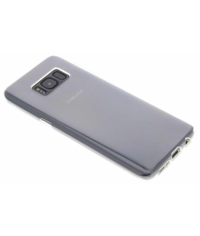 Transparant gel case Samsung Galaxy S8