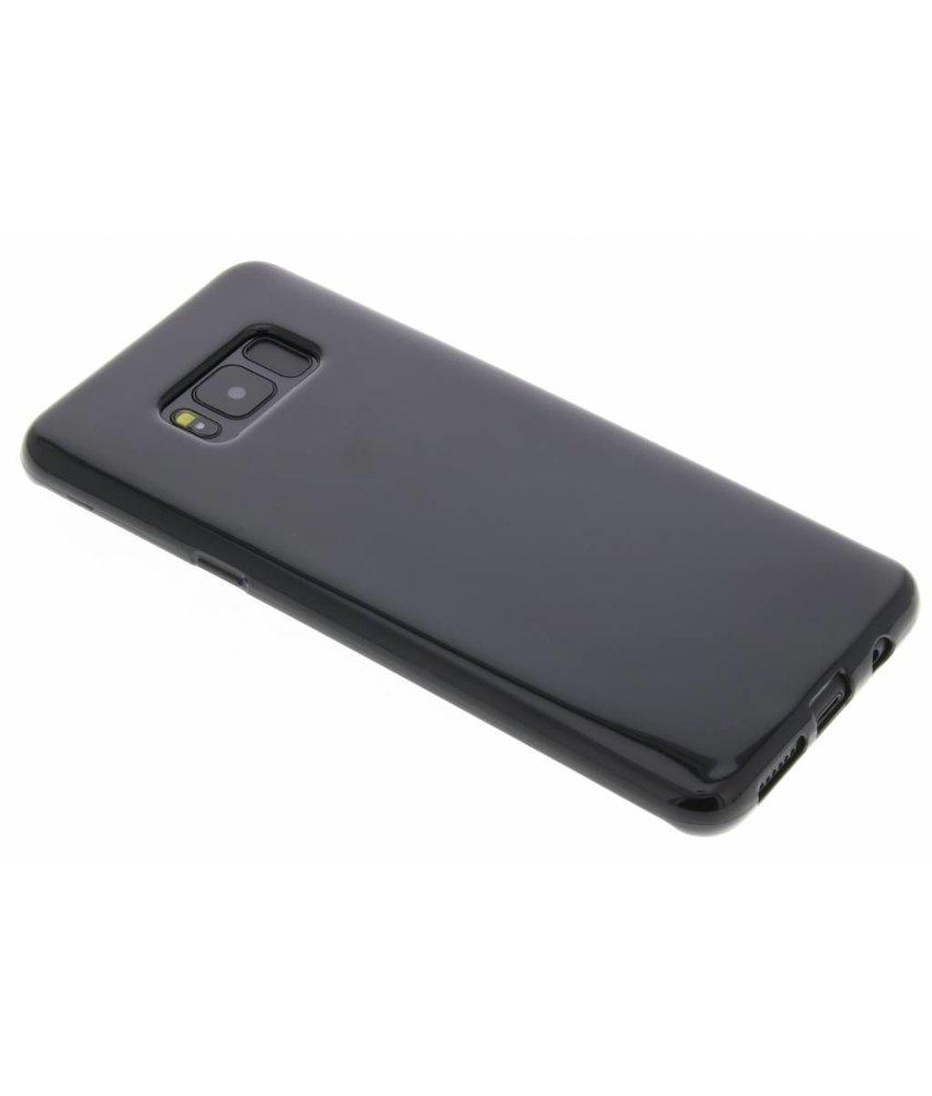 Zwart gel case Samsung Galaxy S8 Plus