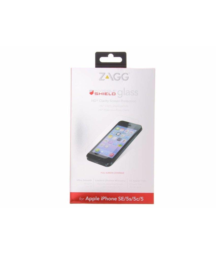 ZAGG Invisible Shield Glass screenprotector iPhone 5 / 5s / 5c / SE
