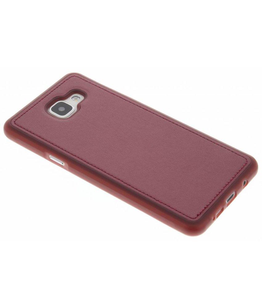 Metallic lederen TPU case Samsung Galaxy A5 (2016)