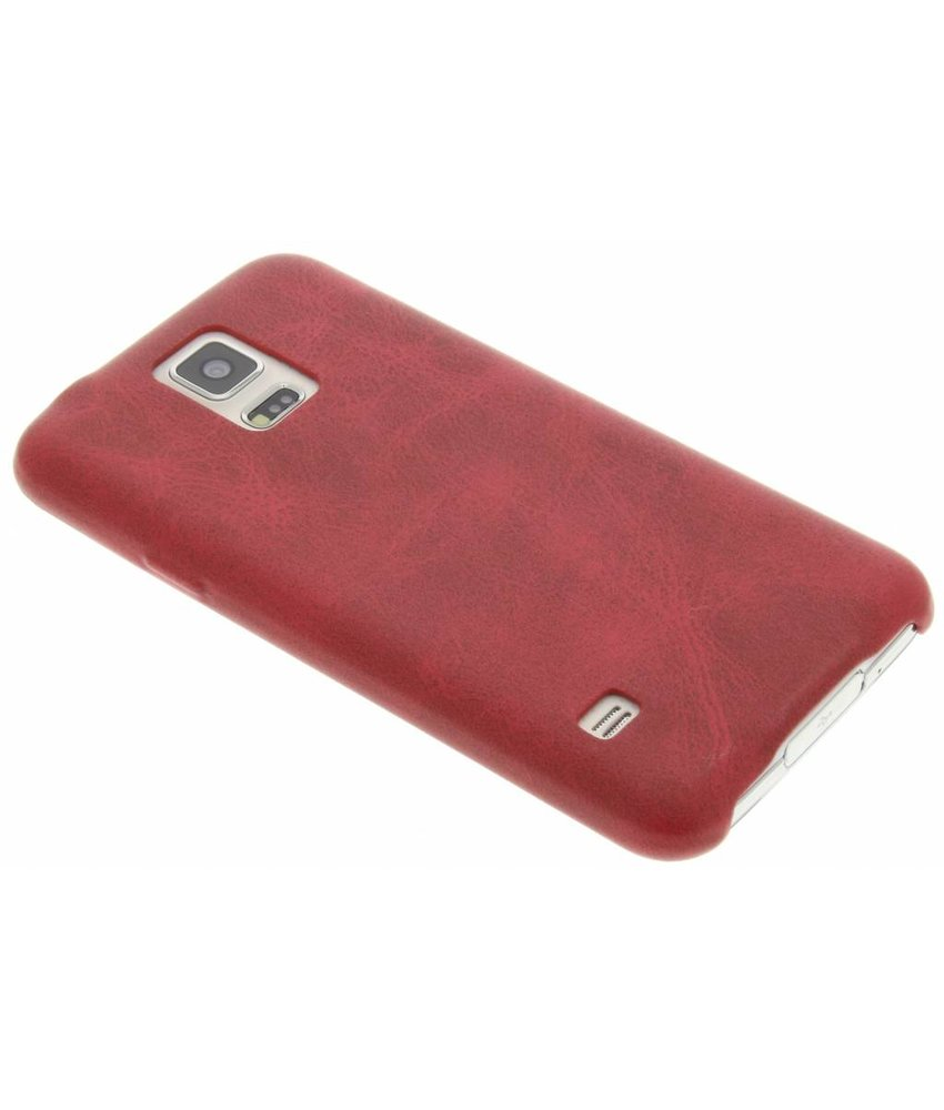 Fuchsia Simple Étui En Silicone Tpu Pour Samsung Galaxy S5 (plus) / Neo KSSumI