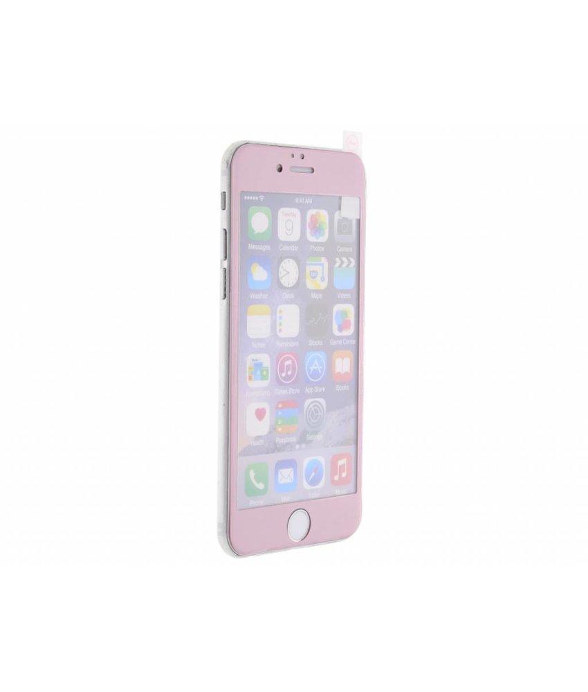 Gehard glas screenprotector iPhone 6 / 6s - Roze