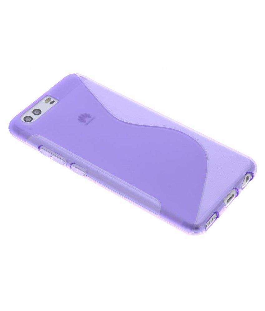 Paars S-line TPU hoesje Huawei P10