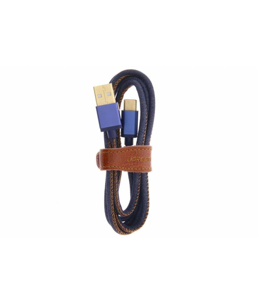 Ugreen Deluxe gevlochten USB Type-C naar USB-kabel 1 meter