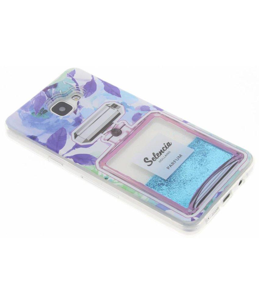Selencia Blauwe Parfum Glittercase Samsung Galaxy A5 (2016)