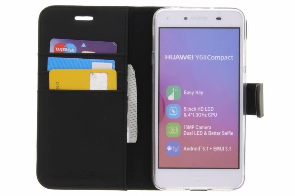 Porte-monnaie Livret Pour Huawei 2 Tpu Y5 / Y6 2 Compact - Noir yMdChnmX5