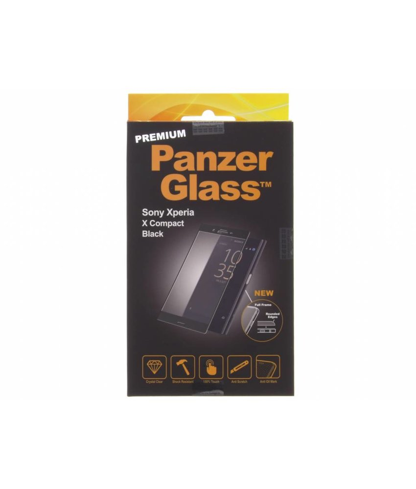 PanzerGlass Premium Screenprotector Sony Xperia X Compact - Black