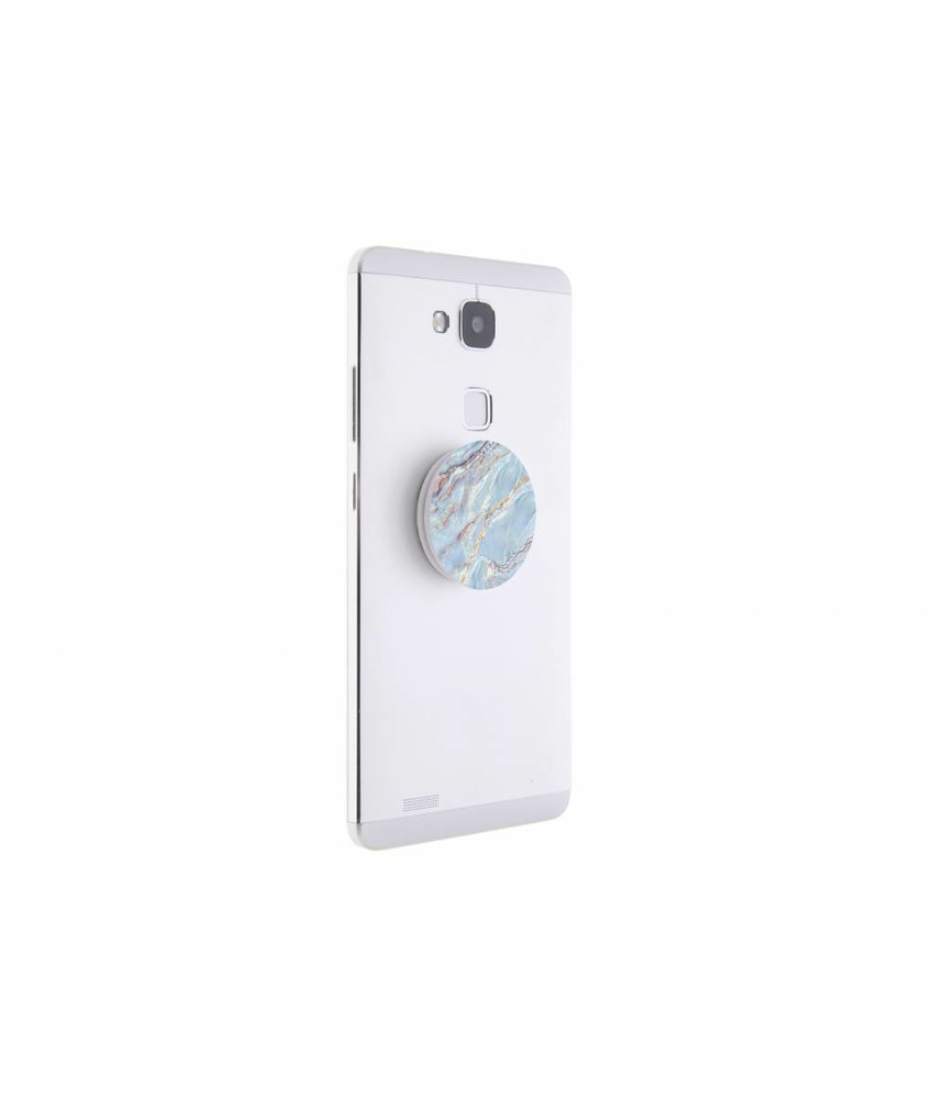 PopSockets Marmer Blue design