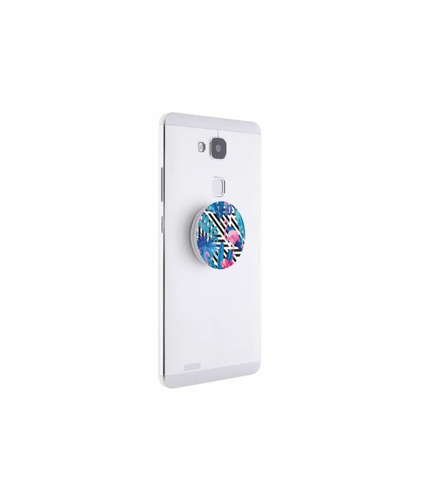PopSockets Geo art flamingo design