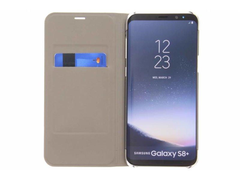 Flip Cas De Luxe En Or Pour Samsung Galaxy S8, Plus