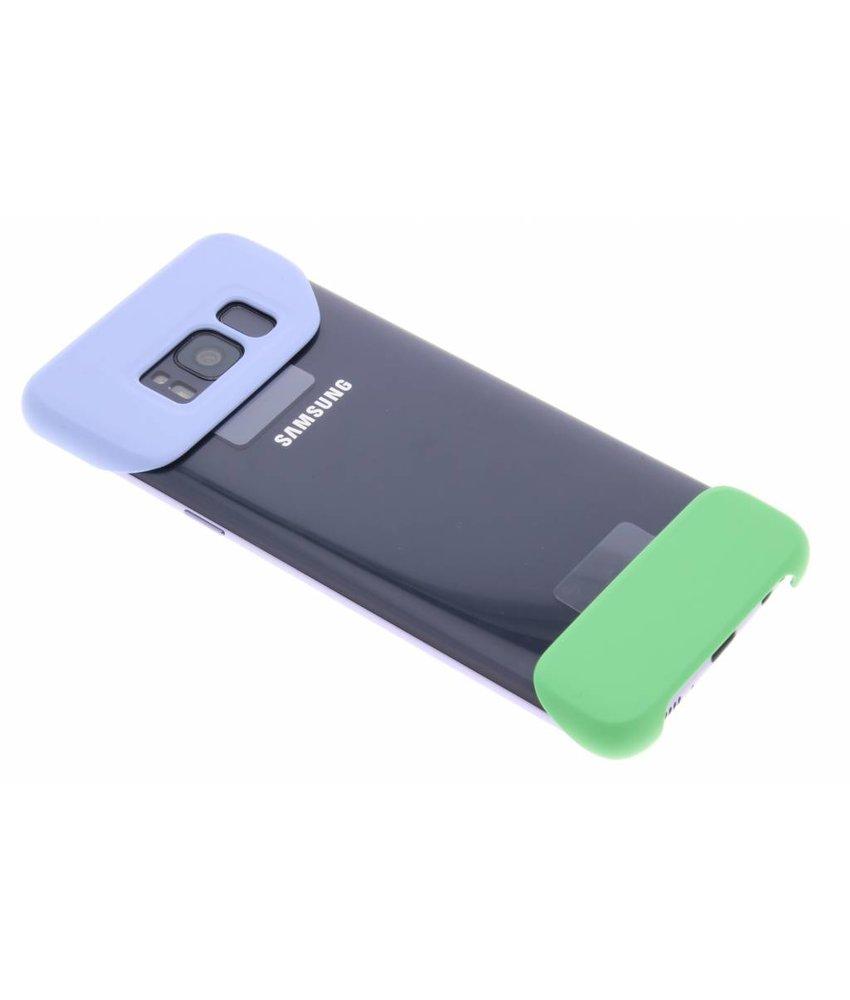 Samsung Violet / Groene 2Piece Cover Galaxy S8