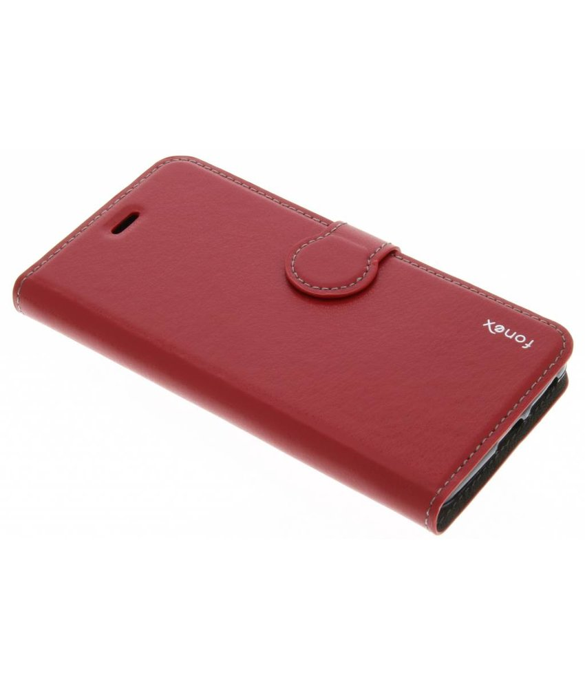 Fonex Identity Bookcase Huawei Nova - Rood