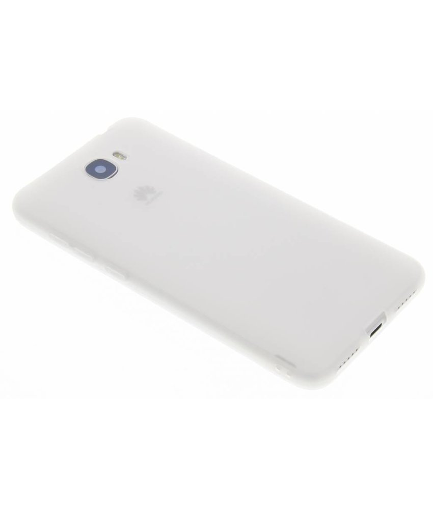 Wit Color TPU hoesje Huawei Y5 2 / Y6 2 Compact