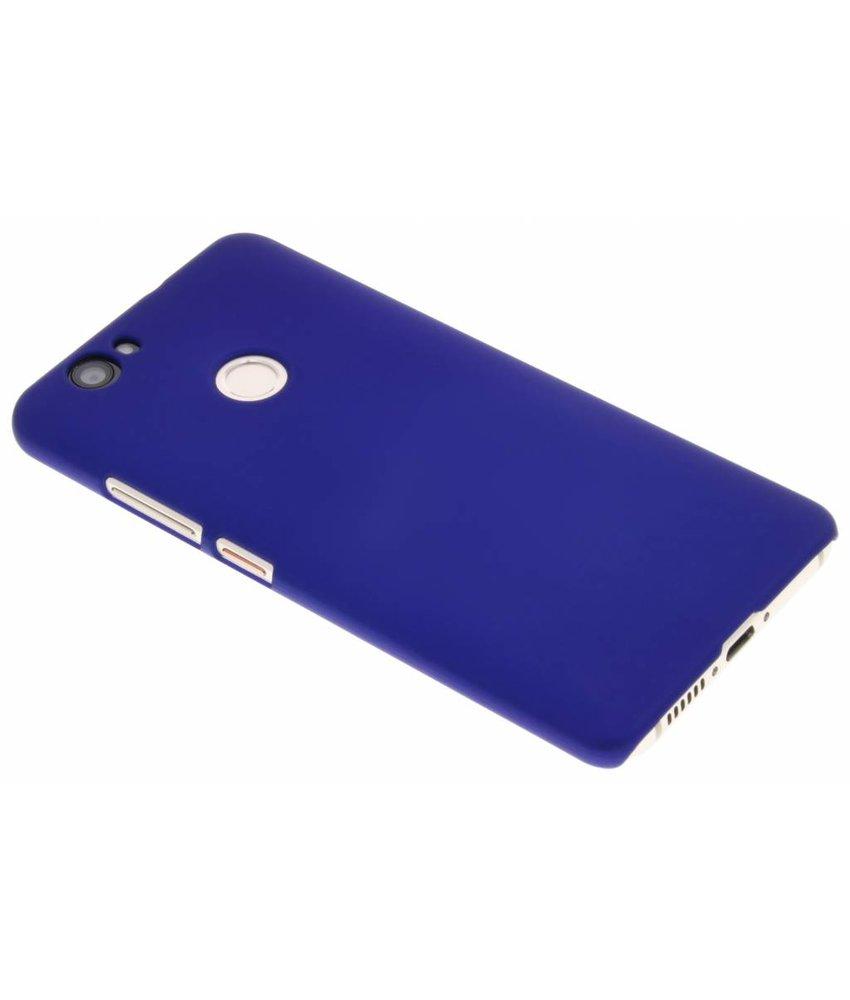 Blauw effen hardcase hoesje Huawei Nova