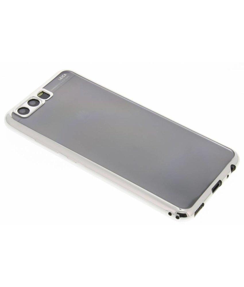 TPU hoesje met metallic rand Huawei P10