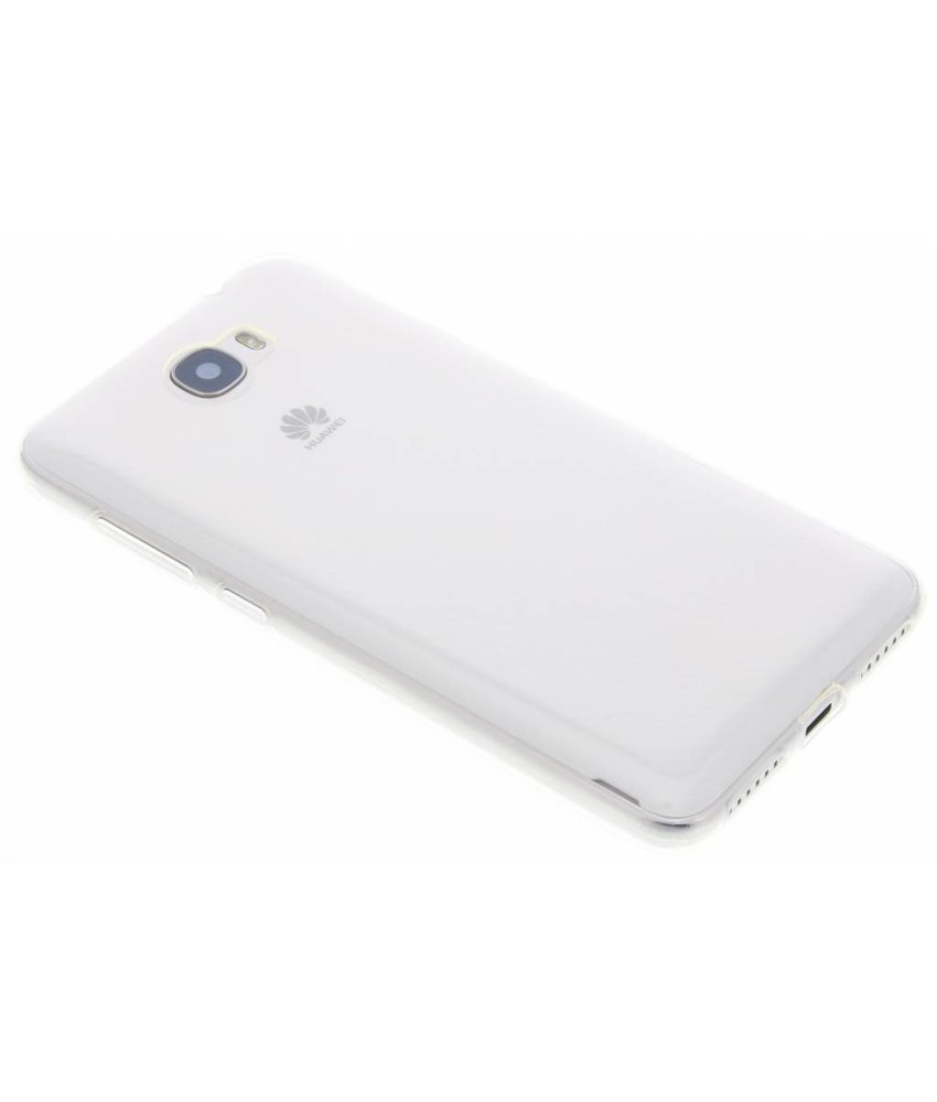 Ultra thin transparant TPU hoesje Huawei Y5 2 / Y6 2 Compact