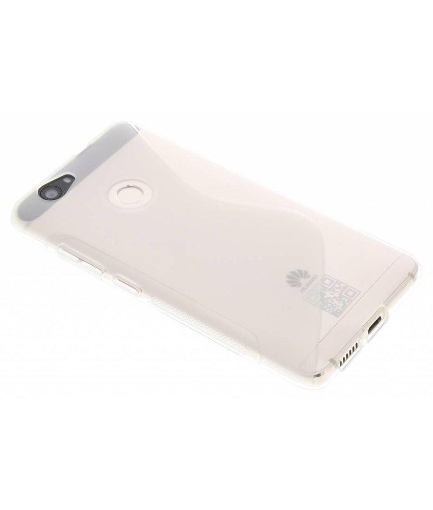 Transparant S-line TPU hoesje Huawei Nova