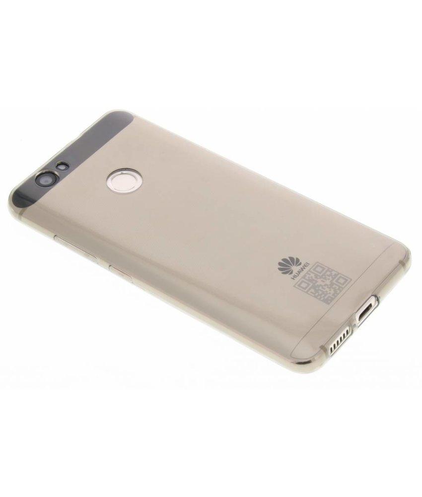 Grijs transparant gel case Huawei Nova