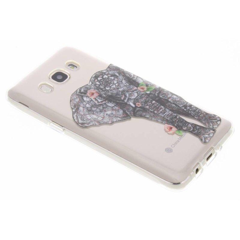 Tortoiseshell Conception Cas De Tpu Pour Samsung Galaxy J5 (2016) HFYle4VCB
