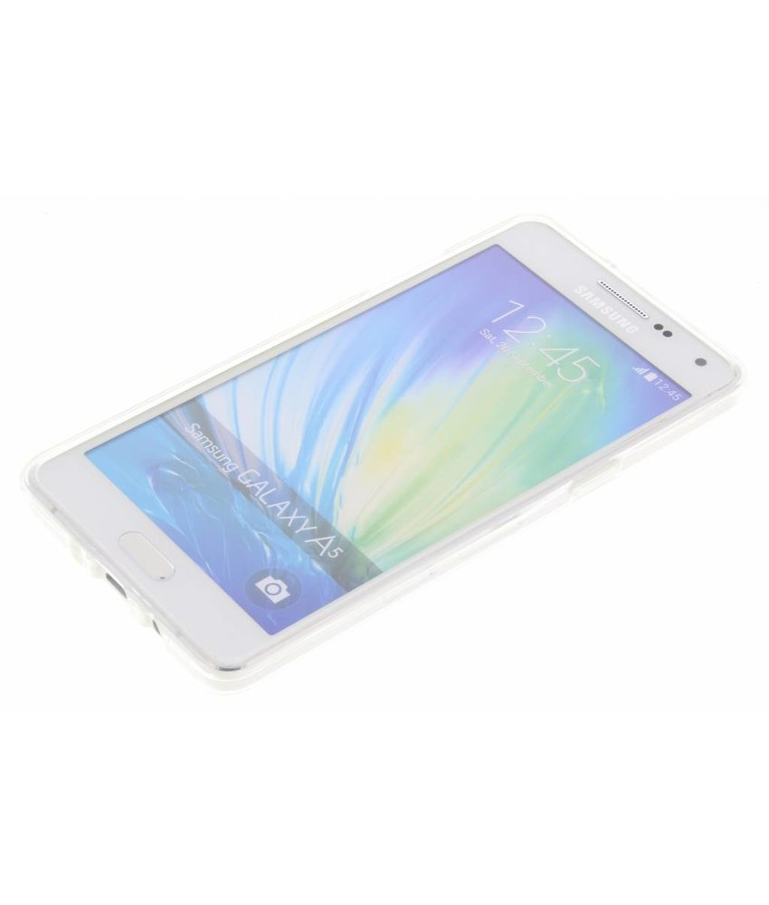 Quote design TPU hoesje Samsung Galaxy A5